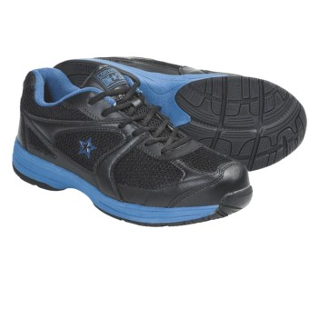 Converse Key Player Crosstrainer Work Shoes - Steel Toe (For Men) in Black/Blue
