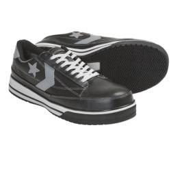 Converse Lightweight Classic Oxford Work Shoes - Composite Toe (For Men) in Black/Grey