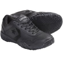 Converse Low Profile Euro Casual Work Shoes (For Men) in Black - Closeouts