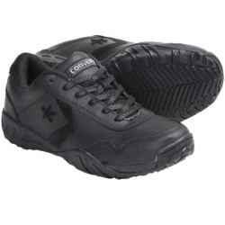Converse Low Profile Euro Casual Work Shoes (For Men) in Black