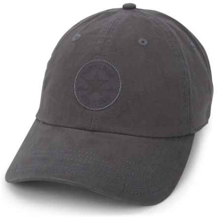 Converse Monotone Core Baseball Cap (For Women) in Charcoal Grey - Closeouts
