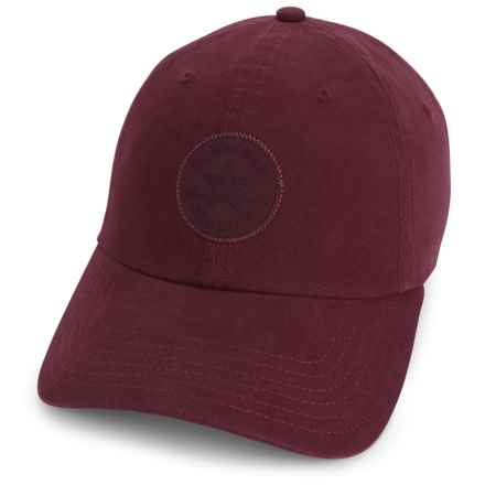 Converse Monotone Core Baseball Cap (For Women) in Dark Sangria - Closeouts