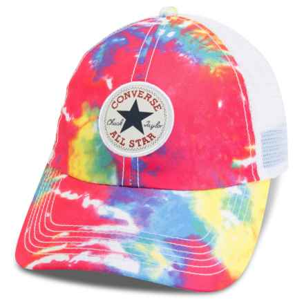 Converse Tie-Dye Baseball Cap (For Women) in Tie Dye - Closeouts