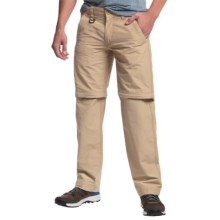 Convertible Pants - Zip-Off Legs, Cotton-Nylon (For Men) in Khaki - 2nds