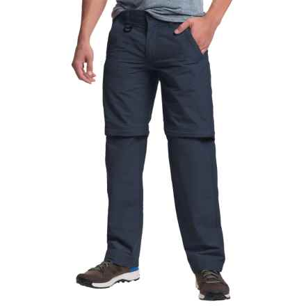 Convertible Pants - Zip-Off Legs, Cotton-Nylon (For Men) in Navy - 2nds