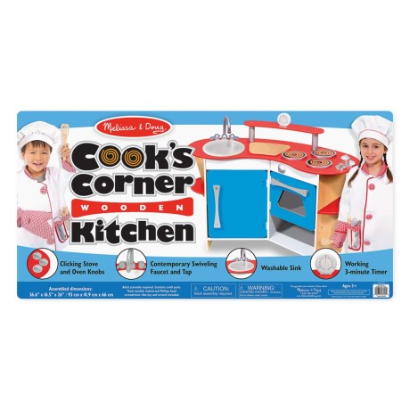 Image of Cooks Corner Wooden Kitchen