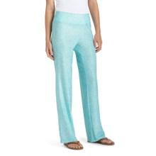 Coolibar Aire Travel Pants - UPF 50+ (For Women) in Jade - Closeouts