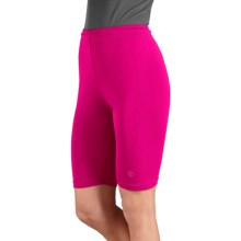 Coolibar Fitted Swim Shorts - UPF 50+ (For Women) in Thai Pink - Closeouts