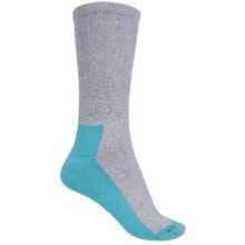 CoolMax® Trail Socks - Crew (For Women) in Blue - 2nds