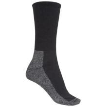 CoolMax® Trail Socks - Crew (For Women) in Charcoal - 2nds