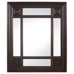 "Cooper Classics Marcella Rectangular Mirror - 34x40"" in See Photo"