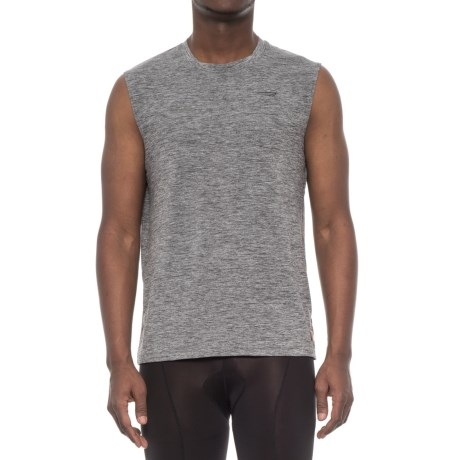 Copper Fit Compression Tank Top (For Men) in Charcoal Heather