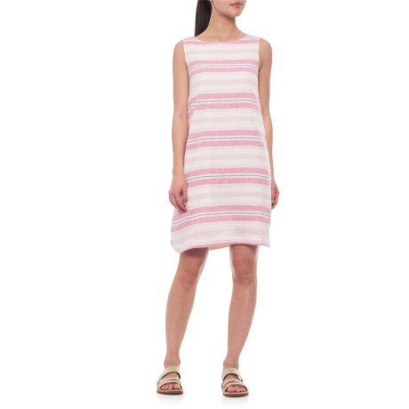Image of Coral Reef Alina Dress - Linen, Sleeveless (For Women)