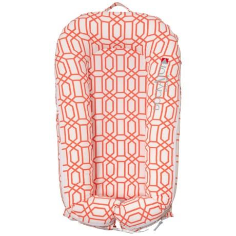 Image of Coral Trellis Deluxe Plus Baby Sleeper