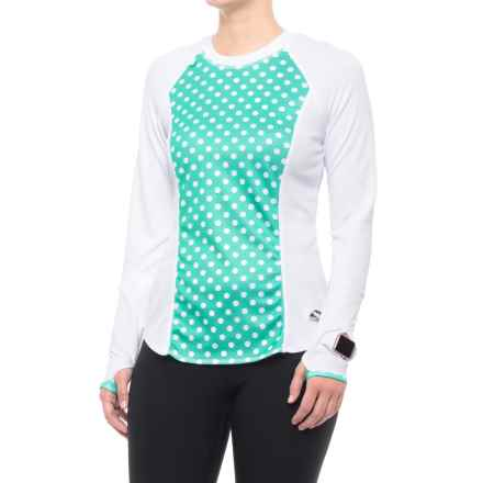 Corbeaux Silverqueen Base Layer Top - Long Sleeve (For Women) in Polka Spot - Closeouts