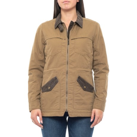 Image of Corbett Canvas Jacket (For Women)