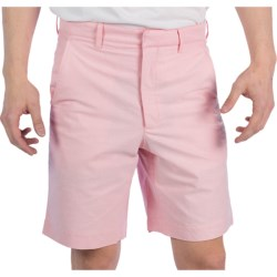Corbin Cotton Oxford Shorts (For Men) in Pink