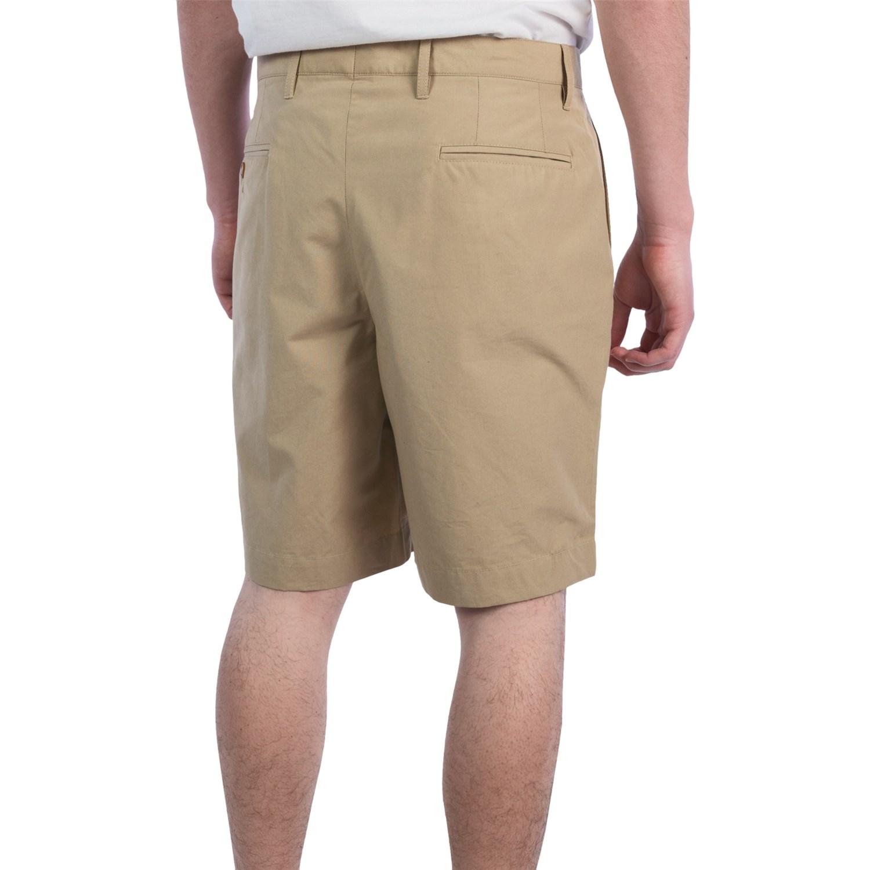 corbin cotton poplin shorts for 6779r save 66