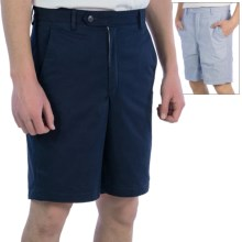 Corbin Pincord Shorts - Reversible (For Men) in Blue/Navy - Closeouts