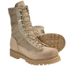 "Corcoran Army Hot-Weather Combat Boots - 9"" (For Men and Women) in Desert Tan"