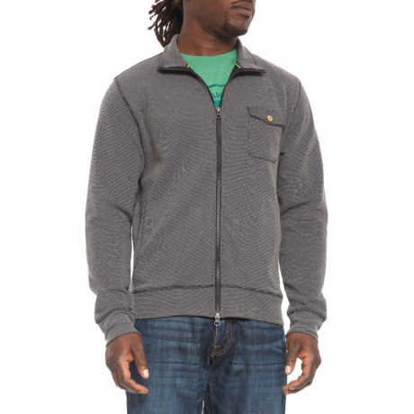 Image of Cord Cardigan Sweater - Zip Front (For Men)