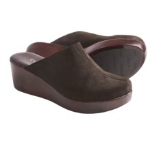 Cordani Carmina-2 Clogs (For Women) in Brown Suede - Closeouts