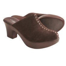 Cordani Davy Clogs (For Women) in Brown Suede - Closeouts