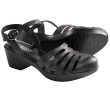 Cordani Gemini Sandals (For Women) in Black Leather - Closeouts