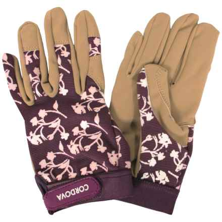 Cordova Gardening Gloves (For Women) in Brown Multi - Closeouts