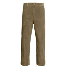 Corduroy Pants - Elastic-Back Waist (For Men) in Khaki - Closeouts