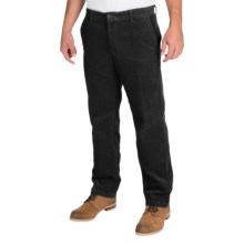 Corduroy Pants (For Men) in Black - Closeouts