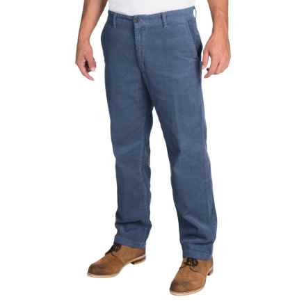 Corduroy Pants (For Men) in Dark Blue - Closeouts