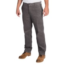 Corduroy Pants (For Men) in Grey - Closeouts
