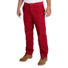 Corduroy Pants (For Men) in Red - Closeouts