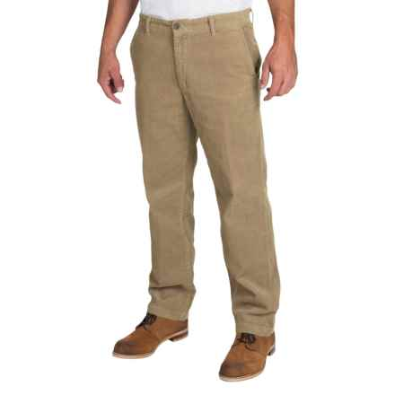 Corduroy Pants (For Men) in Tan - Closeouts