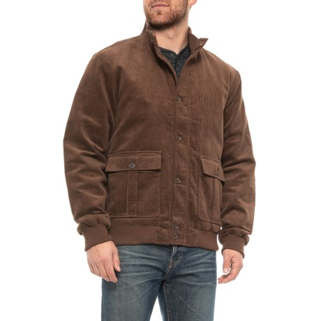 Image of Corduroy Vardon Bomber Jacket (For Men)