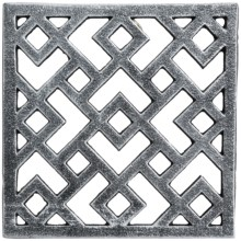 Core Bamboo Cast Iron Lattice Trivet in Slate - Closeouts