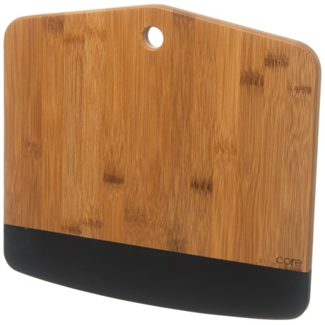 "Core Bamboo Chalkables Large Serving Board - 12"" in Natural/Black"