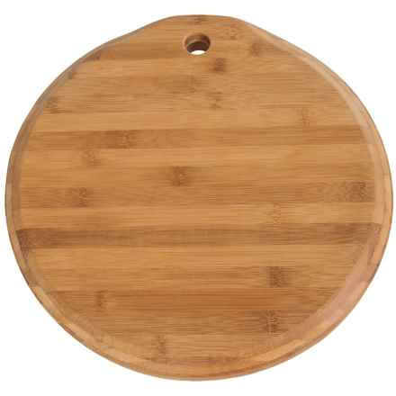 "Core Bamboo Chisel Chop Block Cutting Board - 14"" Round in Bamboo - Closeouts"