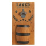 Core Bamboo Decorative Barrel Bottle Opener