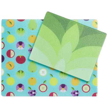 "Core Bamboo Glass Prep Boards - 12x15"", Set of 2 in Farmers Market - Closeouts"