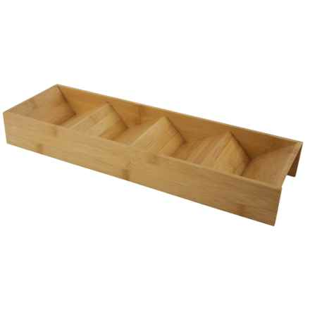 Core Bamboo In-Drawer Spice Rack in Natural - Closeouts