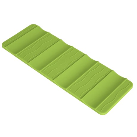 Core Bamboo Large Beverage Stacking Mat in Lime