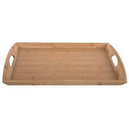"""Core Bamboo Serving Tray - 20x13"""" in Natural - Closeouts"""