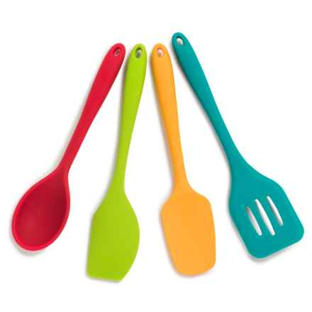 Core Bamboo Silicone Baking Utensils - Set of 4 in Multi - Overstock