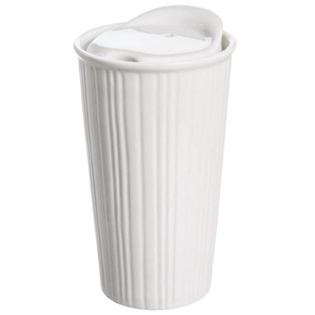 Core Bamboo Textured Ceramic Coffee Mug - 11 fl.oz. in Ridge