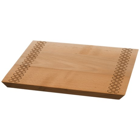 "Core Bamboo Textured Cutting Board - 14"" in Crochet"