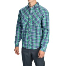 Core Concepts Whiskey River Hybrid Shirt - Snap Front, Long Sleeve (For Men) in Navy - Closeouts