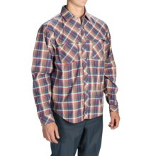 Core Concepts Whiskey River Hybrid Shirt - Snap Front, Long Sleeve (For Men) in Vivid - Closeouts