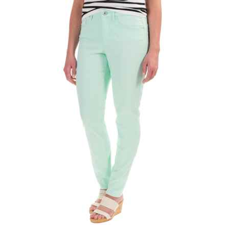 Core Replenishment Colored Skinny Jeans (For Women) in Spearmint - Closeouts